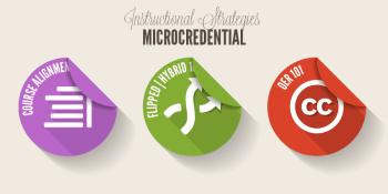Instructional Strategies Microcredential badges