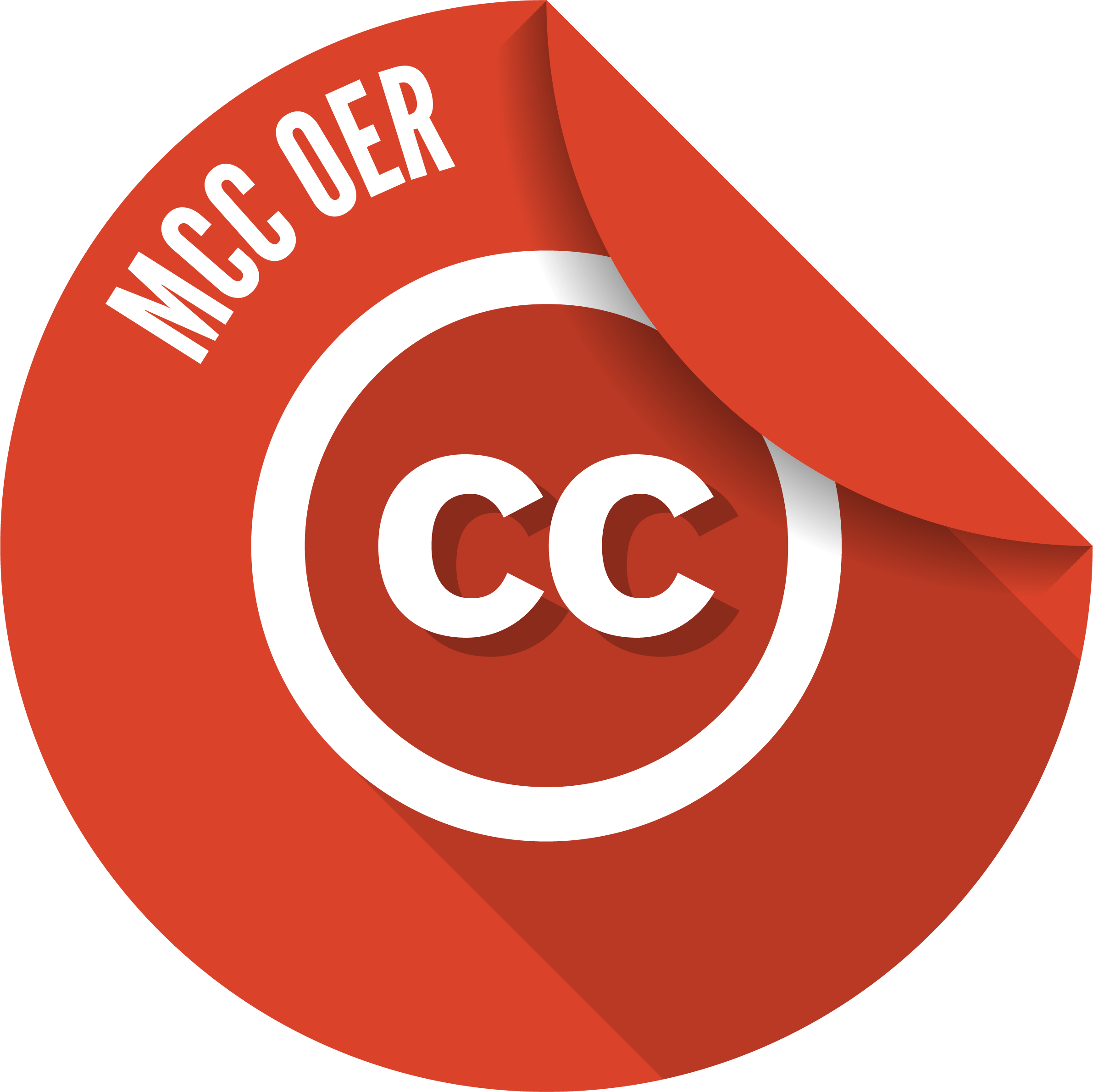 Unusable MCC OER badge