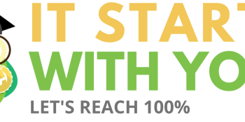 It starts with you! Let's reach 100% completion.