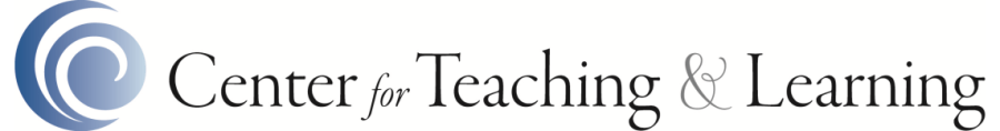 Center for Teaching & Learning graphic