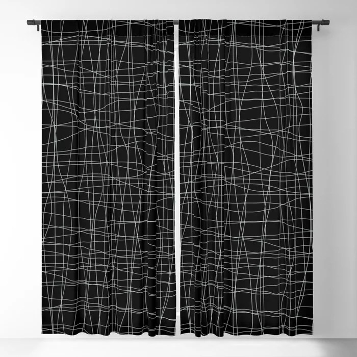 Pastel Green and Black Mosaic Grid Pattern Pairs Behr 2022 Color of the Year Breezeway MQ3-21 Blackout Curtain. Color for 2022