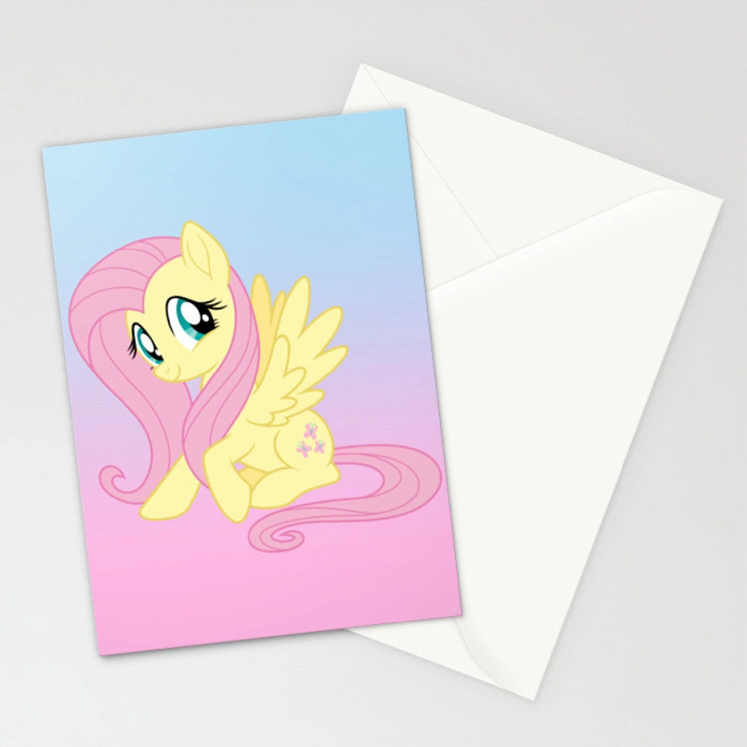 G4 My Little Pony Fluttershy Stationery Cards By Gertee Society6