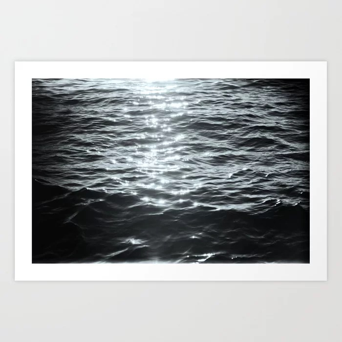 Sunday's Society6 | Sea art print