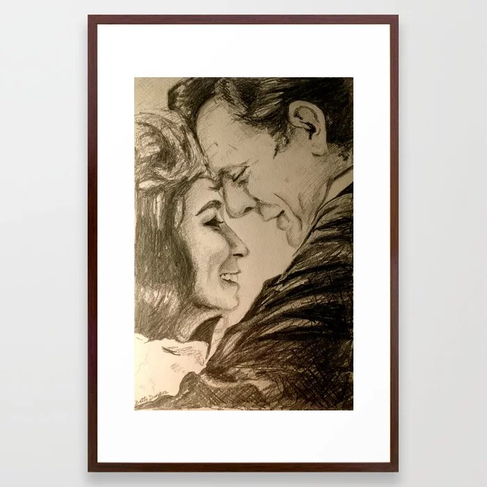 Download I Want To Love Like Johnny And June Framed Art Print by ...