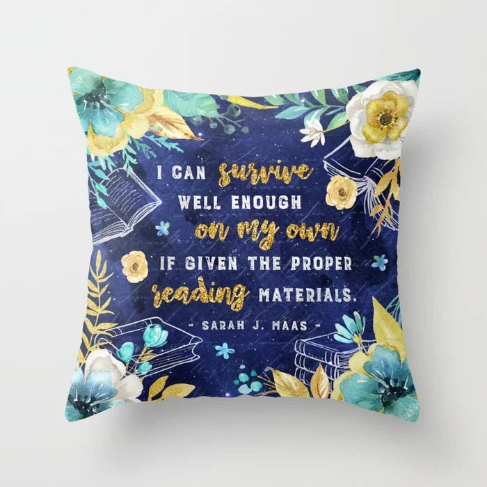 Reading Materials Pillow