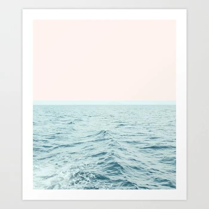 Sunday's Society6 | Sea breeze art print
