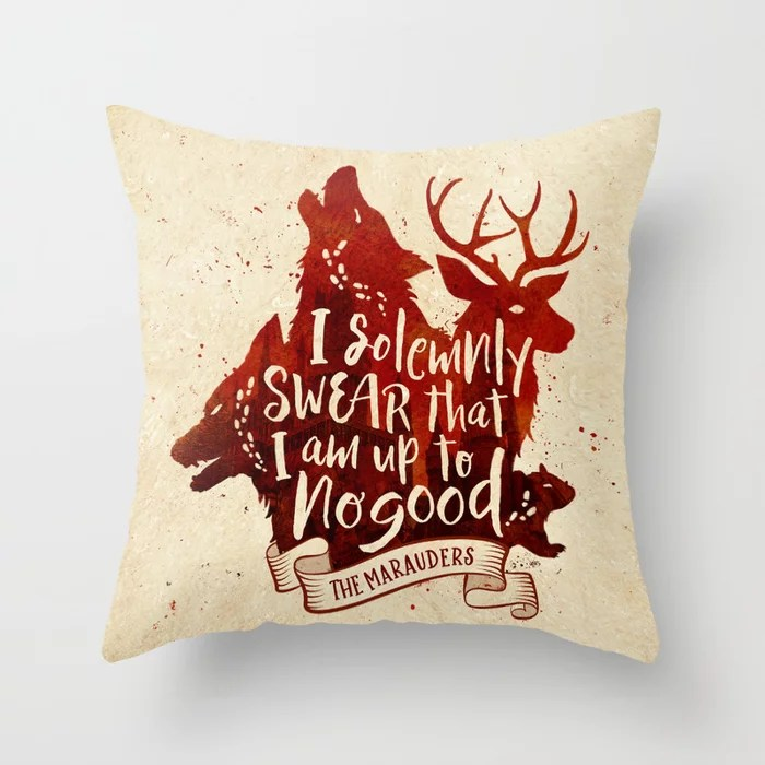 I solemnly Swear Pillow