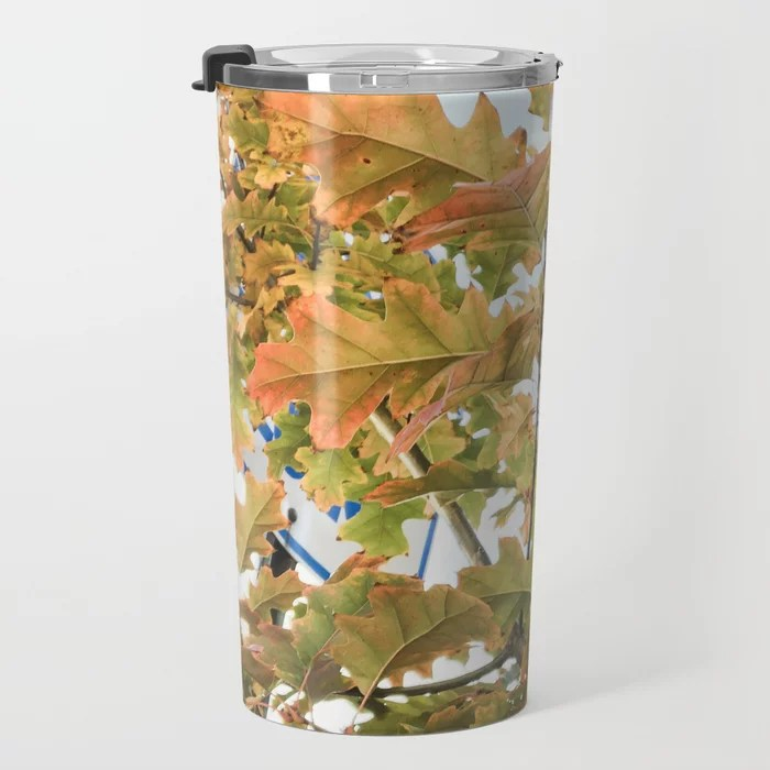 Bright Autumn Glow Travel Mug