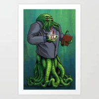 Boss Monster Art Print