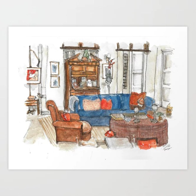 Will Truman S Apartment Art Print By