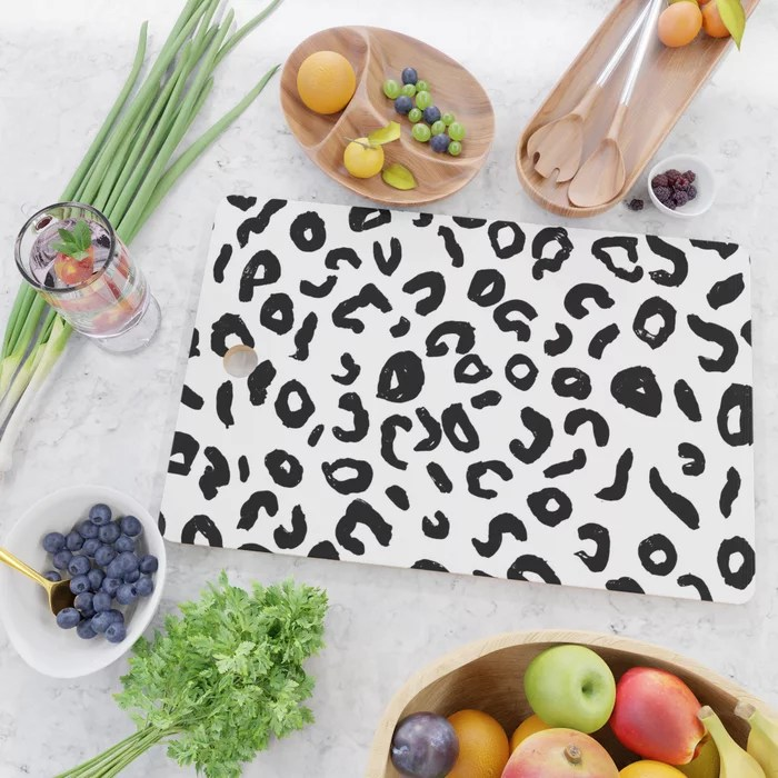 Leopard Spots Cutting Board