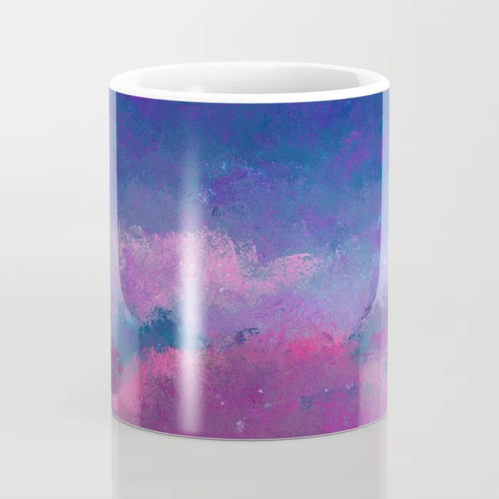 Heredity In Mountbatten Pink Coffee Mug by abstractions ...