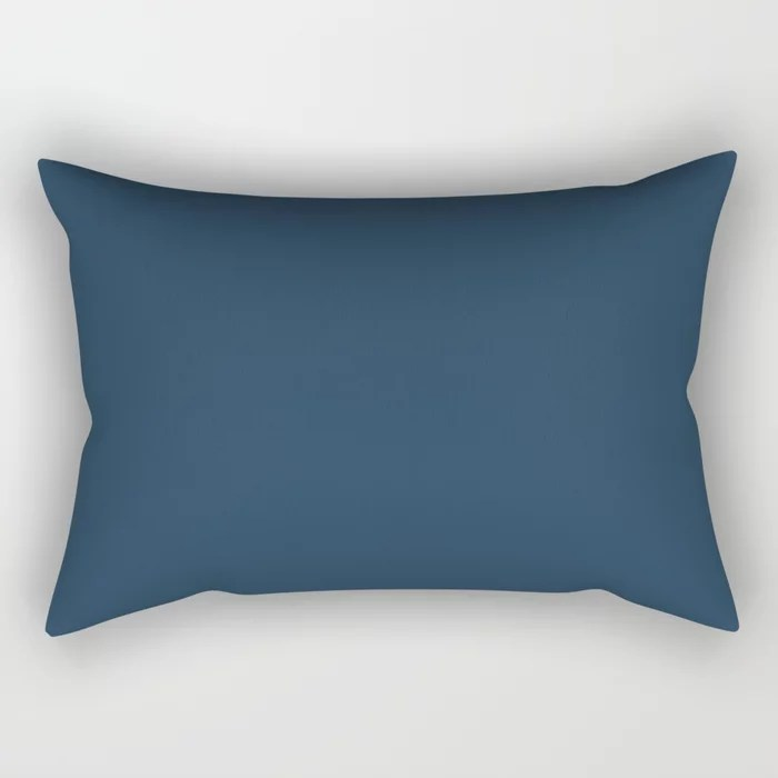 Solid Color Rectangle Indoor Throw Pillows