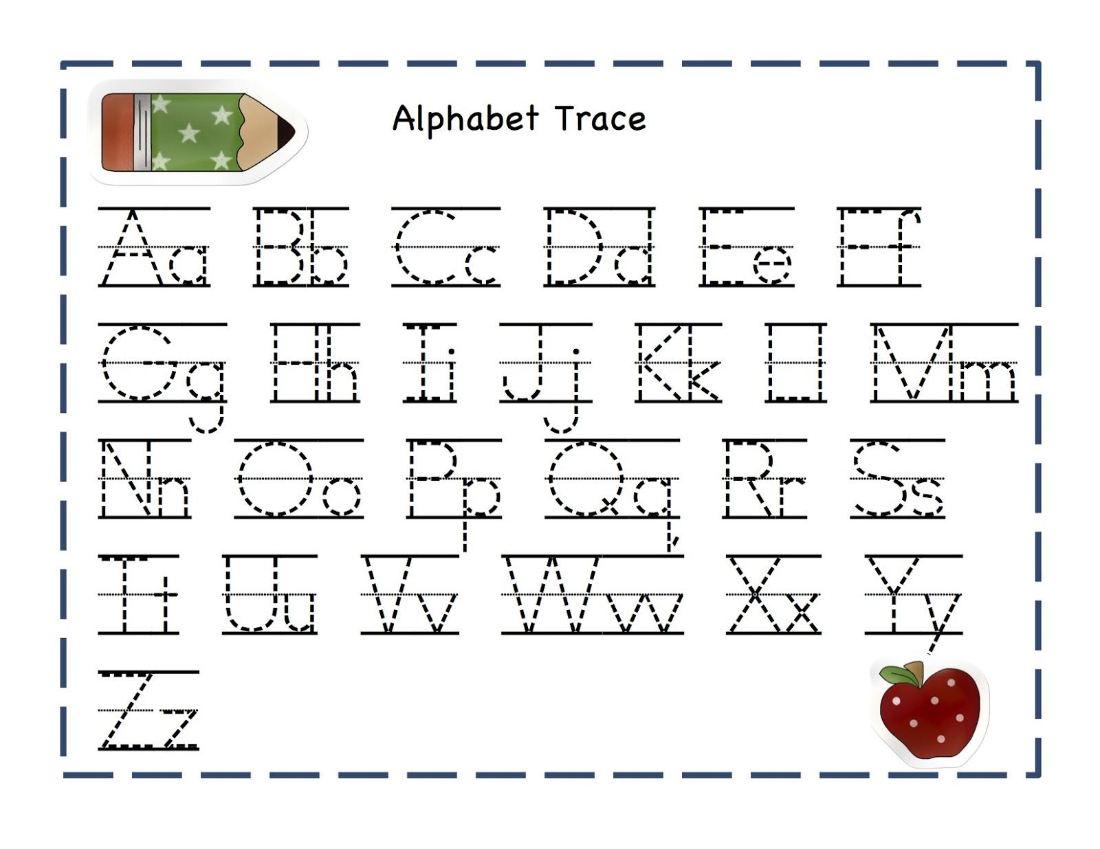 Alphabet Writing Worksheet