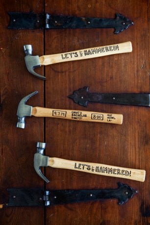 SomethingTurquoise-DIY-lets-get-hammered-bachelor-party-invite-hammers_0001
