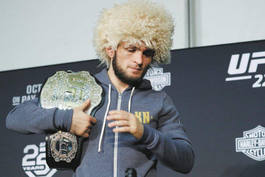 Khabib Nurmagomedov best MMA fighter at ESPY awards