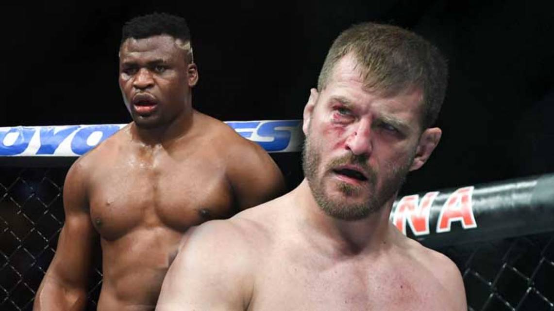 Daniel Cormier assessed Miocic's chances of winning the third fight against Ngannou