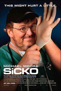 """Sicko"" movie poster"