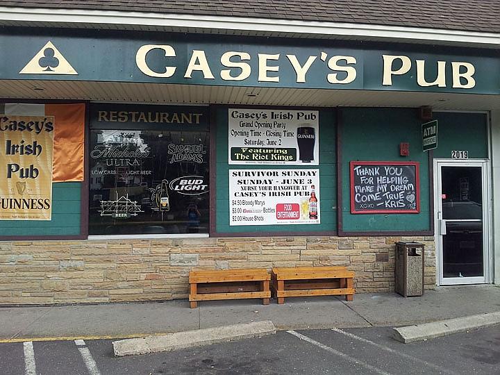 Courtesy of Caseys Pub Facebook page