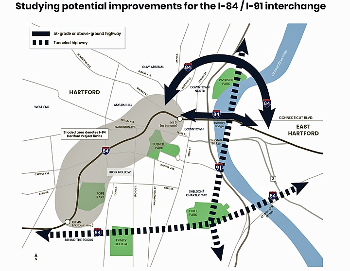 I-84 Project website