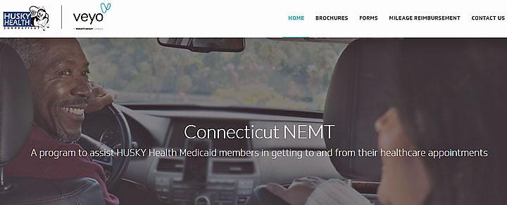 Connecticut's NEMT website