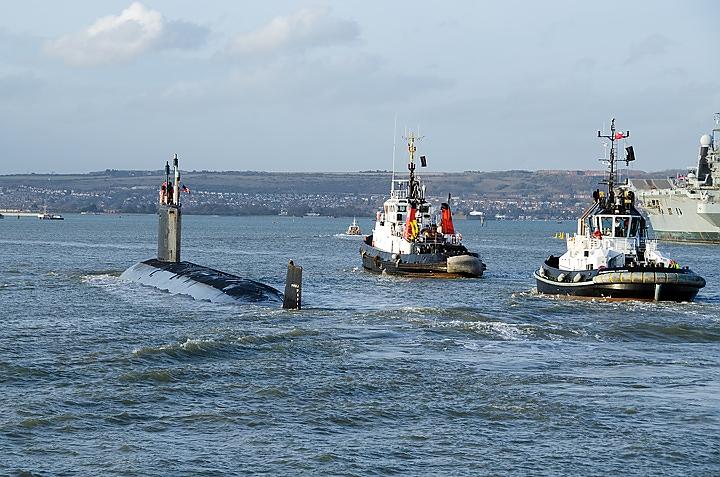 USS New Hampshire (Paul J. Martin via Shutterstock)