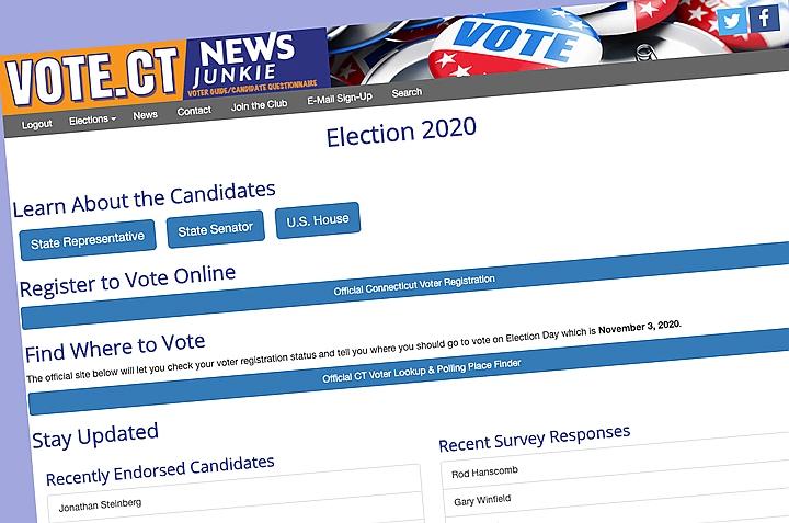 screengrab from vote.ctnrewsjunkie.com