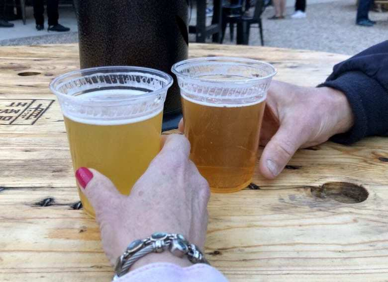 Beers at the Gastro Park (Ronni Newton Photo)