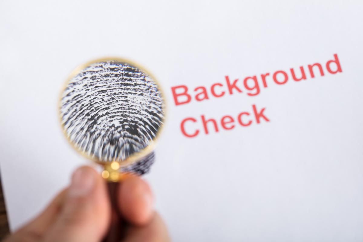 finger print for background check concept (Andrey_Popov via Shutterstock)