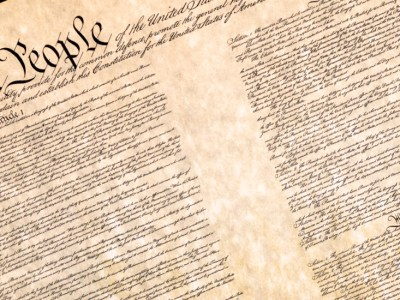 The preamble of the U.S. Constitution. (Jack R. Perry Photography via Shutterstock)