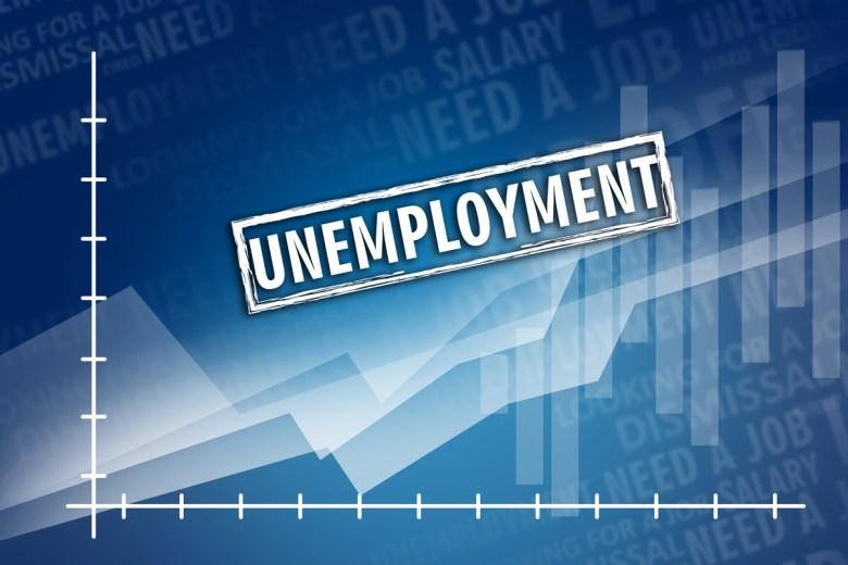 Unemployment chart concept. (FOTOGRIN via Shutterstock)