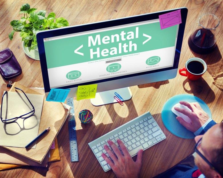 Digital Online Mental Health Healthcare and Medicine Concept. (Rawpixel.com via Shutterstock)