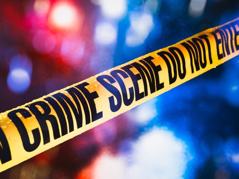 Juvenile crime, crime scene tape image