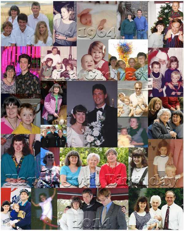 custom collage for family
