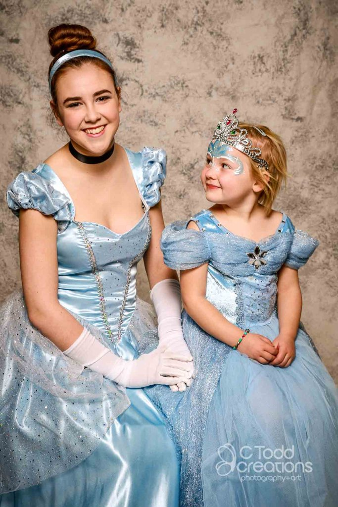 portrait of two princesses