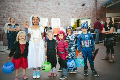 kids safe from accidents on Halloween