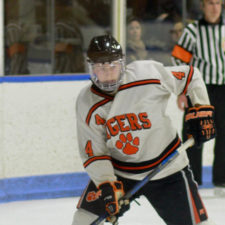 One of our patients recovered to return to the Ridgefield Tigers hockey team.