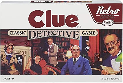 Image of the original board game called Clue
