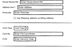 Checkout Form