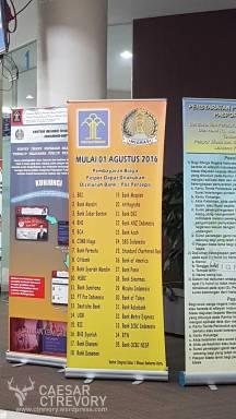 14. Bank-bank yang bekerja sama untuk pembayaran resi