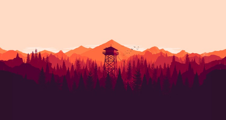 How Firewatch Translated 2D Concept Art Into A 3D Open World