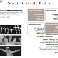 Studio Casa de Pedra (RJ) libera agenda de aulas a partir de março