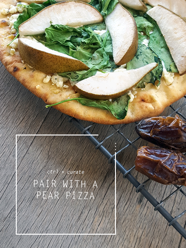 Pear Pizza Recipe | ctrlcurate.com