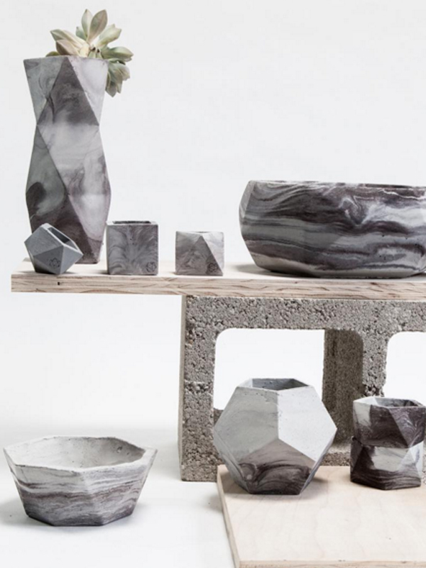 Concrete Geometric Holiday Sale