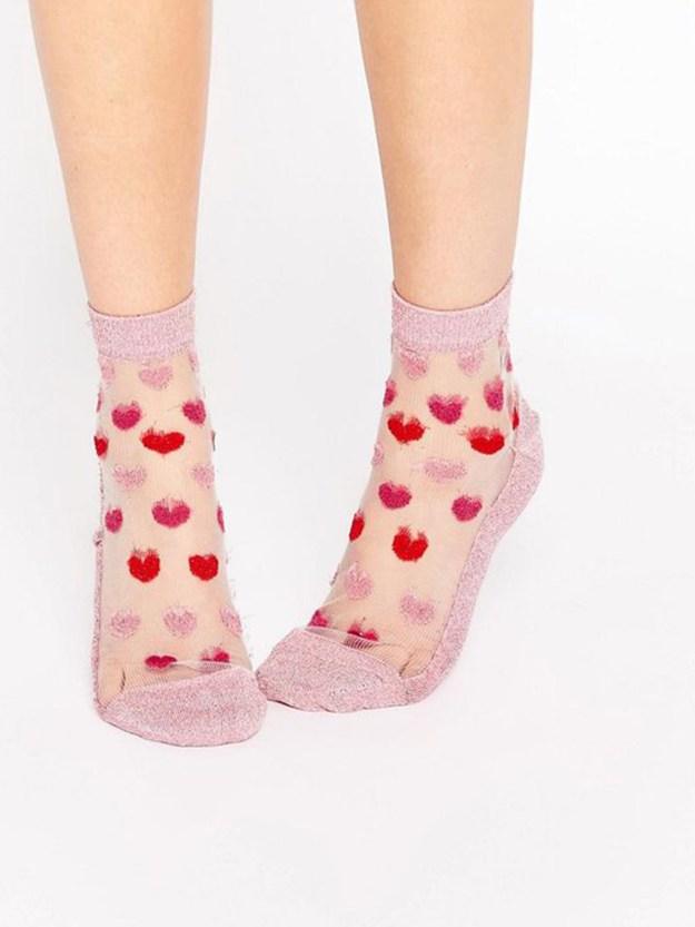 Asos heart socks