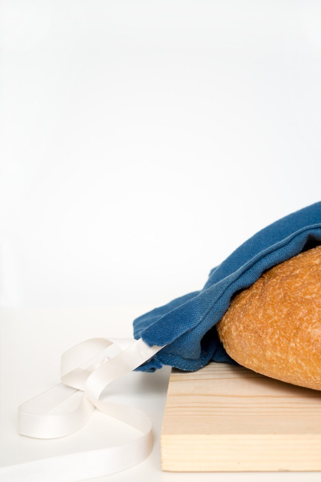 IKEA Pillowcase Hack Linen Alternative Bread Bag