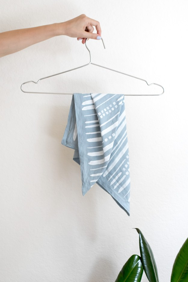 DIY Plain Napkin to Hand Painted Bandana