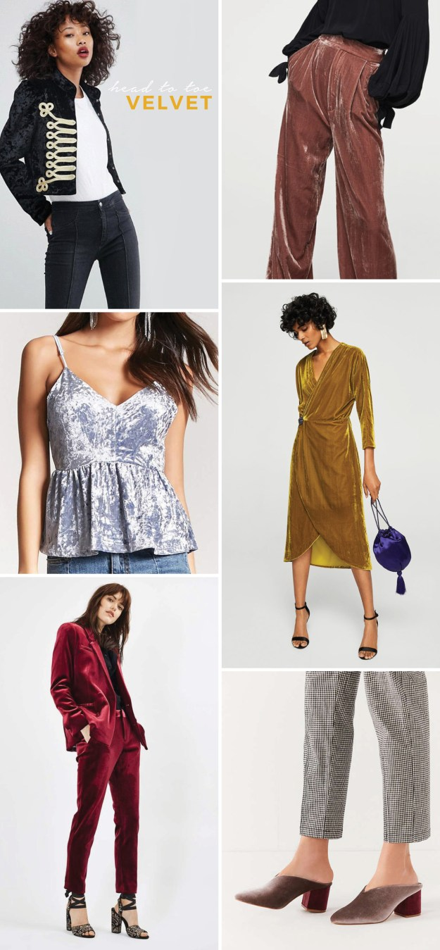 new years outfit ideas head to toe velvet