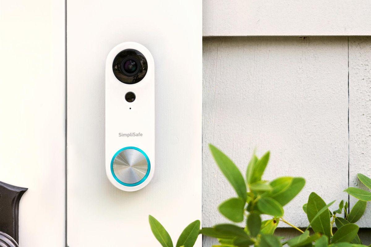 الجرس الذكي SimpliSafe Video Doorbell