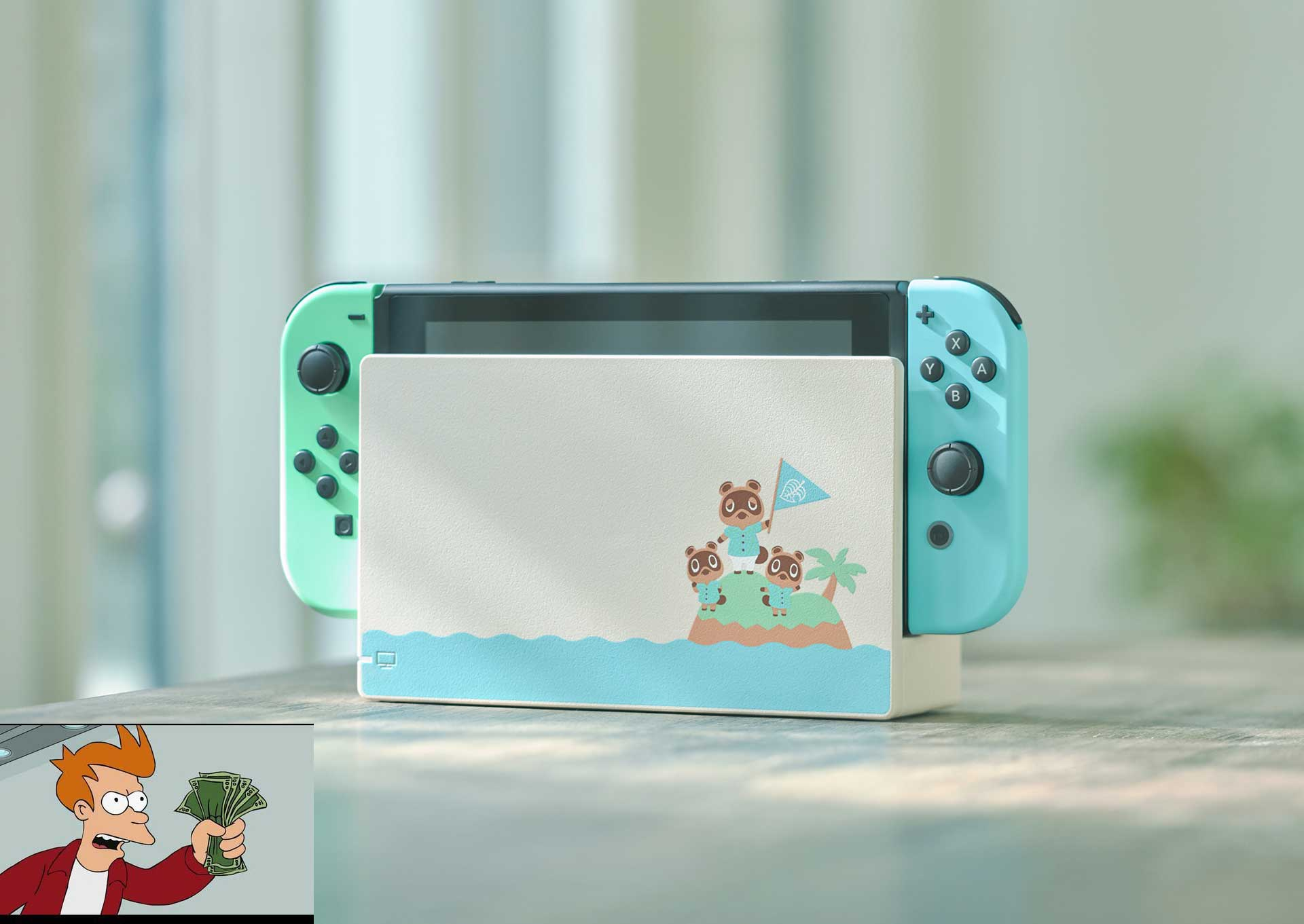 Nintendo To Drop Animal Crossing Themed Switch In Cute Pastel